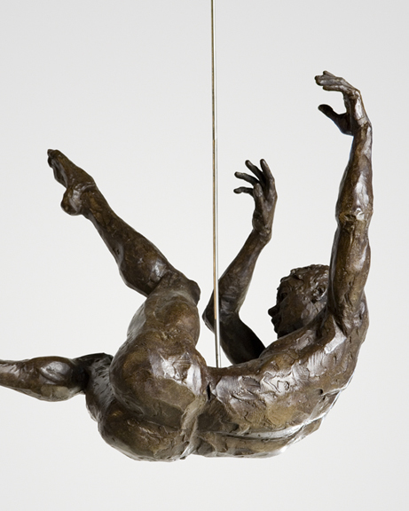 Michael Walters in Dreamer, Bronze by Paige Bradley