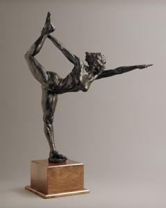 The Visionary, bronze by Paige Bradley